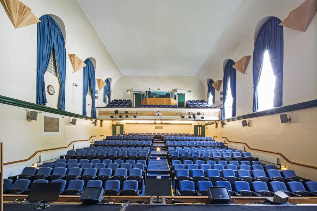 Tuke Hall Cinema Style Seating