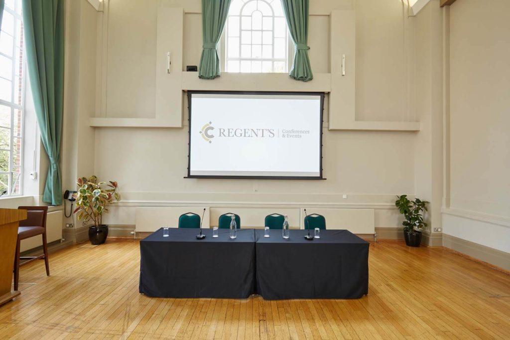 Conference Venue Speaker Table